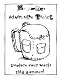 Summer Adventure Pack - A Packet to Send Home over the Summer!