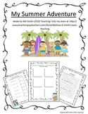 Summer Adventure Scrapbook - Close That Summer Gap