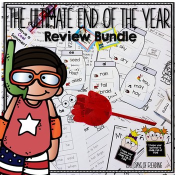 End of the Year Review Activities for Phonics Skills
