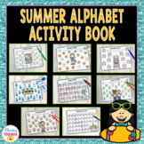Summer Alphabet Activity Book | Letter Recognition Activities