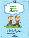Summer Alphabet Adventure Pack (No Prep Required!)