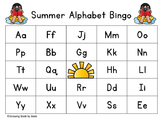 Summer Alphabet Bingo