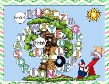Summer Alphabet Games