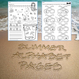 Summer Alphabet Pages