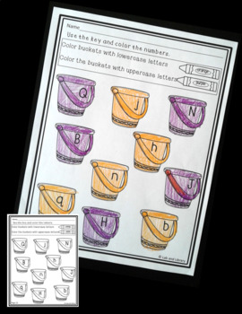 Summer Alphabet Review: Find and Color Printables