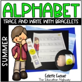 Summer Alphabet Trace and Write (with Bracelets)