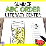 Summer Alphabetical Order Center