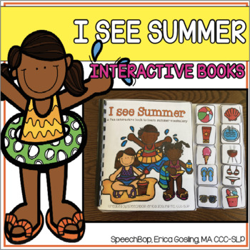 Summer - An Interactive Book to Help Students Learn Summer Vocabulary