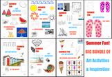 Summer Art Activities BUNDLE
