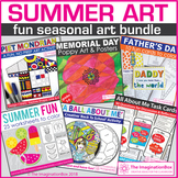 Summer Art Bundle - Activities and Classroom Decor