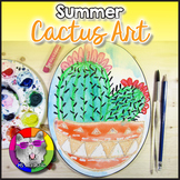 Summer Art Project, Cactus in a Pot