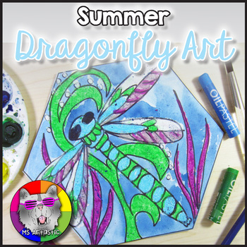 Summer Art Project, Dragonfly
