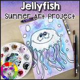 Summer Art Project, Jellyfish