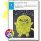 Summer Art Project, Pineapple