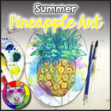 Summer Art Project, Pineapple