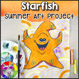 Summer Art Project, Starfish