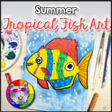 Summer Art Project, Tropical Fish