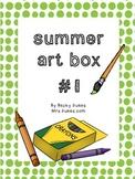 Summer Art Projects Bundle #1