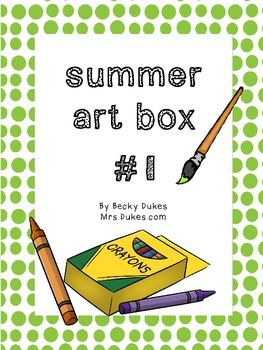 Summer Art Projects Bundle #1