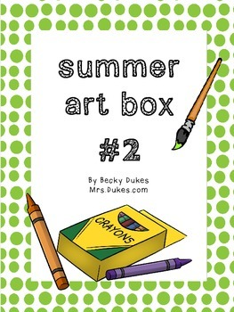 Summer Art Projects Bundle #2