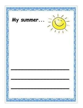Summer Art Template