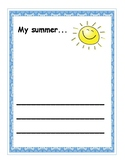 Summer Art Template