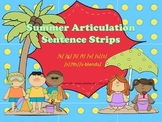 Summer Artic/Language Sentences & Activities for Speech Therapy