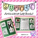 Summer Articulation Homework Lap Books