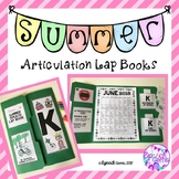 Summer Articulation Homework Lap Books