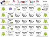 Summer Articulation Carryover Calendar for /s/