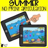 Summer Articulation No Print