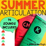 Summer Articulation Practice