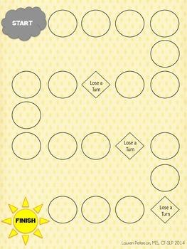 Summer Articulation Practice Task Cards