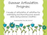 Summer Articulation Program