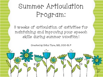 Summer Articulation Program