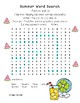 Summer Articulation Word Search /s/, /z/, and S-Blends