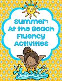 Summer: At the Beach Fluency Activities