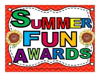 Summer Awards