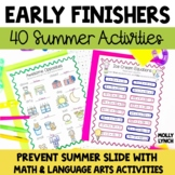 Early Finishers - Summer!