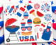 Summer BBQ, 4th of July, Independence Day, Barbecue, SVG