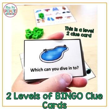 Summer BINGO: Language Based Game