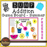 Summer BUMP Addition Math Game - Freebie