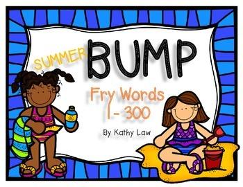 Summer BUMP - Sight Words