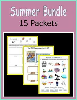 Summer BUNDLE (15 packets)