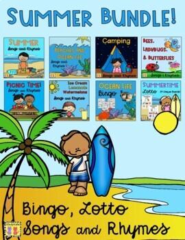 Summer BUNDLE: Songs & Rhymes + BIngo & Lotto