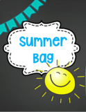 Summer Bags/Back to School