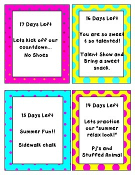 Summer Balloon Countdown