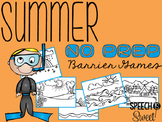 Summer Barrier Games {NO PREP}