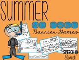Summer Barrier Games {NO PREP}