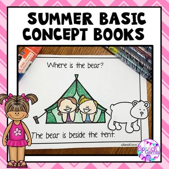 Summer Basic Concepts Books (The Beach, Camping & Gardening